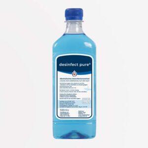 Flächendesinfektionsmittel kaufen – desinfect pure® ist ein Desinfektionsmittel für Hände, Haut & Flächen. Purethan Markenprodukt in Premium Qualität.